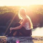 Girls in the sun